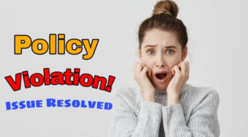 Policy Violation ( Your site isn't ready to show ads.) Fix kaise kare