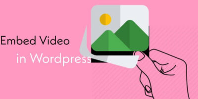 WordPress me easily video embed (add ) kaise kare