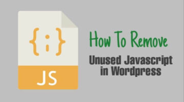 Unused-javascript-remove-kaise-karen