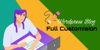 WordPress Blog Customise kaise karen