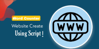 Word counter Tool (with script ) Website Free me Create kaise kare – Step by Step
