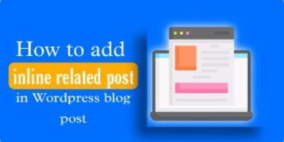 WordPress blog post me Inline related post add kaise kare -without plugin